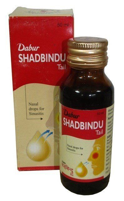 Масло для носа Shadbindu Tail Dabur (Шадбинду Тел Дабур) 50мл