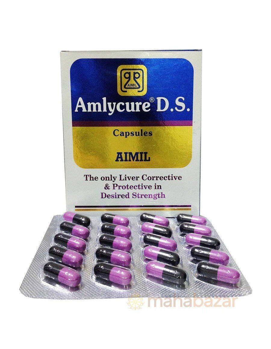 Amlycure DS AIMIL Pharmaceuticals (Амликюр ДС АИМИЛ Фармасьютикалс) (20 капсул)